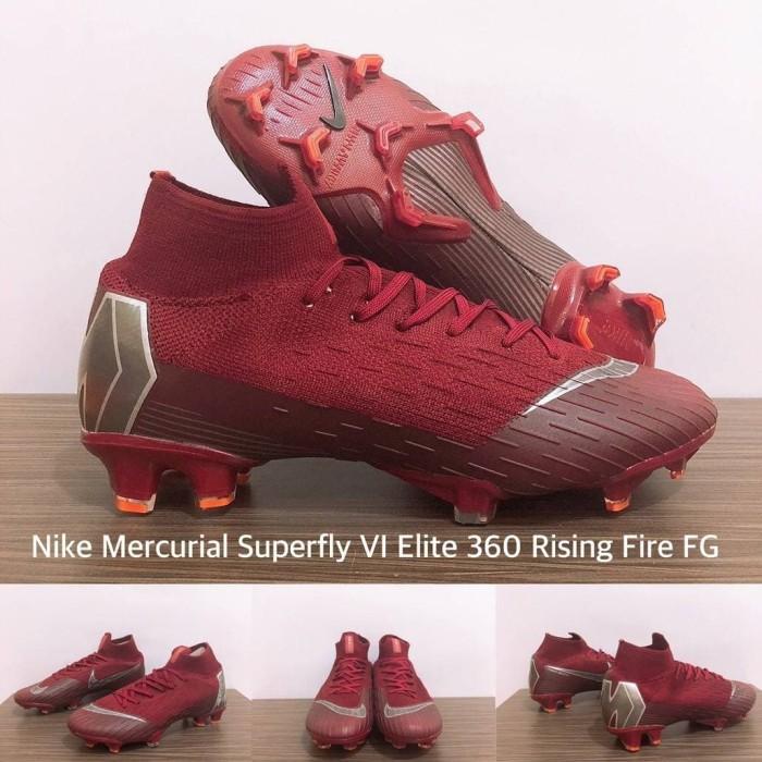 online store 40373 6bb23 Jual NIKE MERCURIAL SUPERFLY VI ELITE 360 RISING FIRE FG - Kota Batam -  Sportsgear.id | Tokopedia