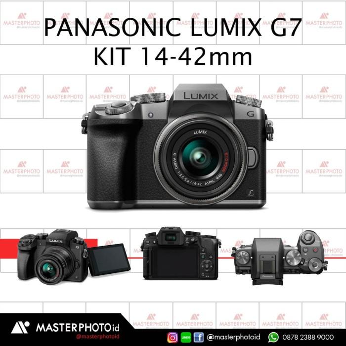 harga Panasonic lumix g7 kit 14-42 silver Tokopedia.com
