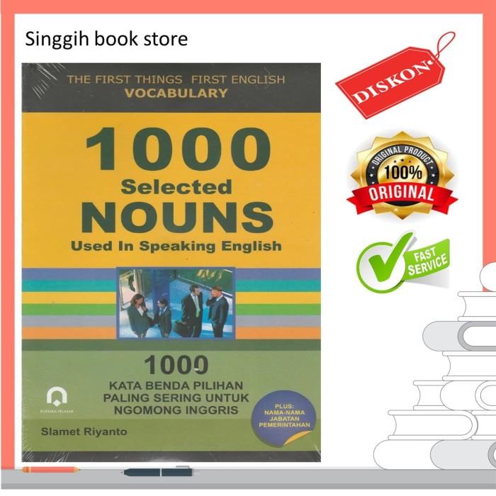 Jual 1000 Selected Nouns Pustaka Pelajar Singgihbookstore Tokopedia