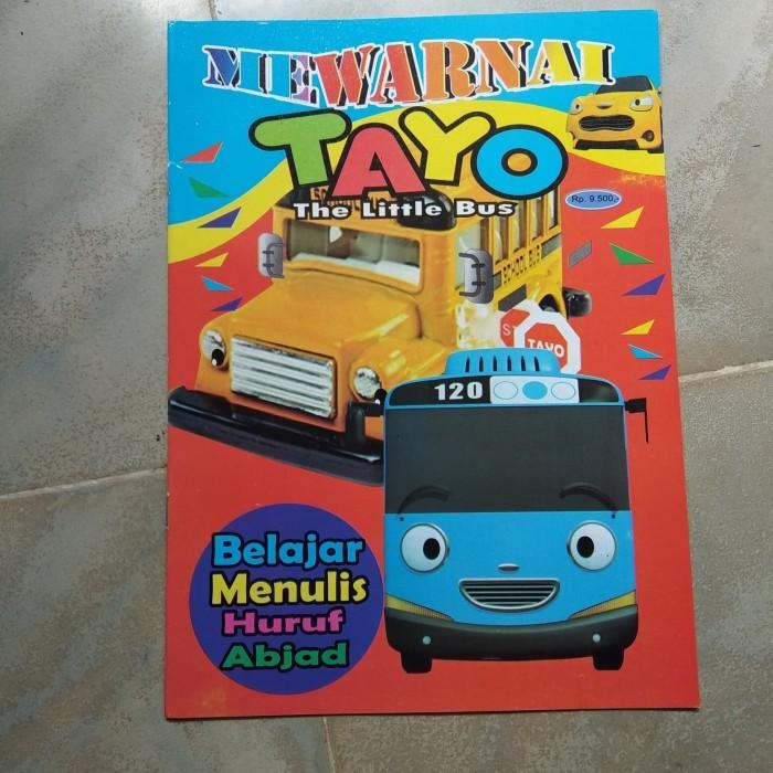 Jual Mewarnai Tayo Dki Jakarta Devans Collections Tokopedia