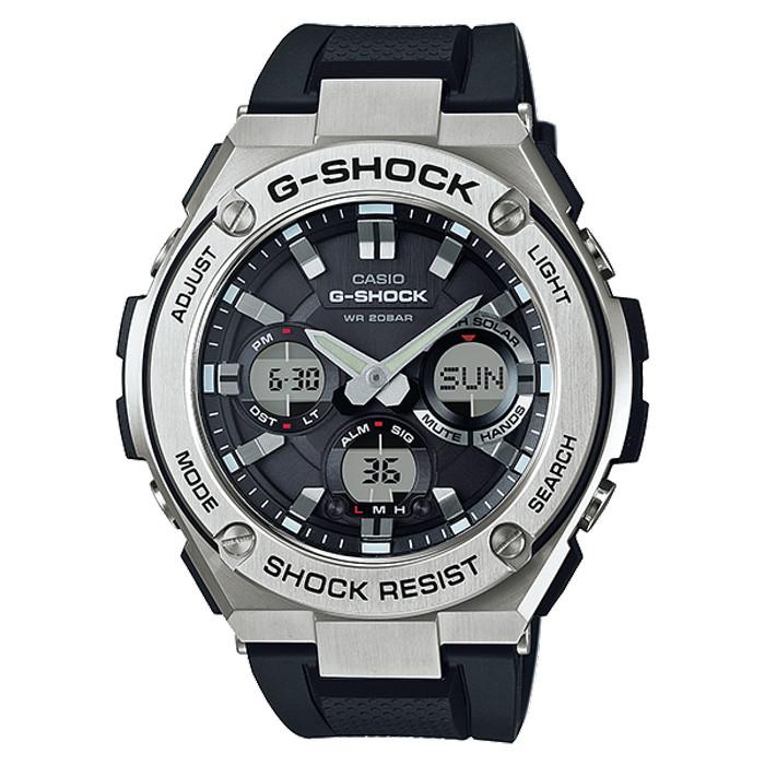 Casio g-shock gst-s110-1adr - jam tangan pria - hitam