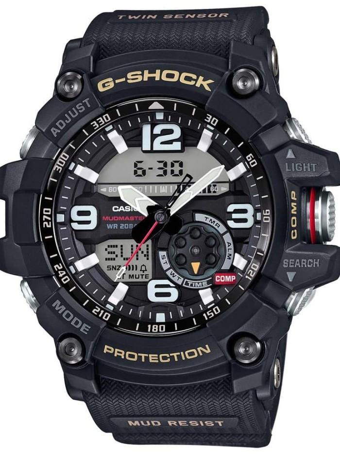 Casio g-shock gg-1000-1adr - jam tangan pria - hitam