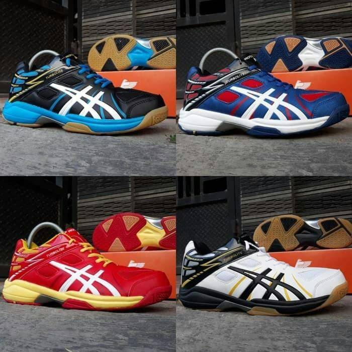 Sepatu Badminton Profesional Turbolite Low  Sepatu Volly  Running -  80dc9dd2aa