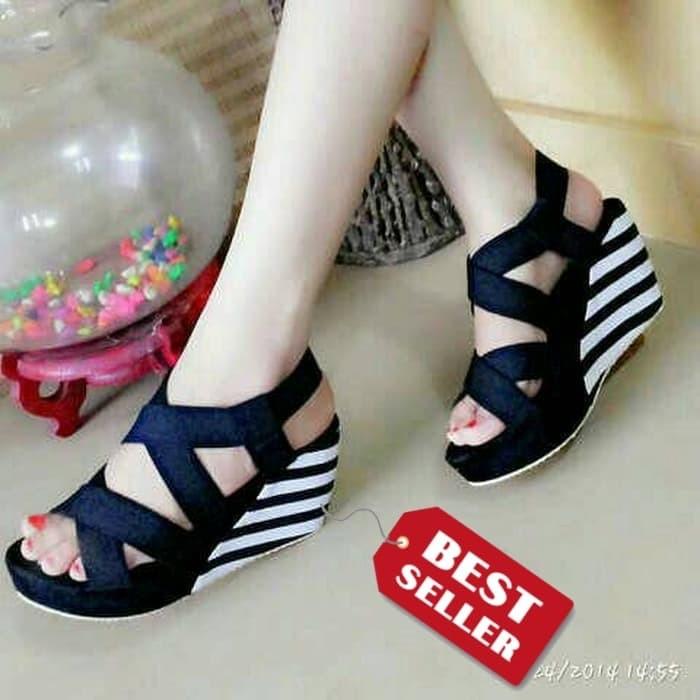 Dijual Sandal Wedges Sepatu Wedges Wanita Murah e69fed6a7f