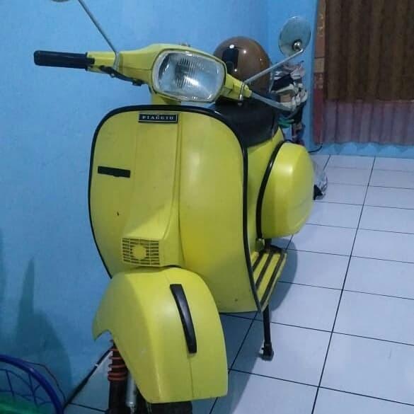 Jual Skuter Kopling Pespa Motor Vespa Jaman Dulu Bukan Honda