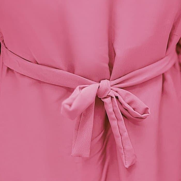 Bajuyuli Gamis Anak Perempuan Murah Polos Basic Wolfis Putih Source · BAJUYULI Gamis Baju Muslim Anak Murah Polos Wolfis Pink FWDP