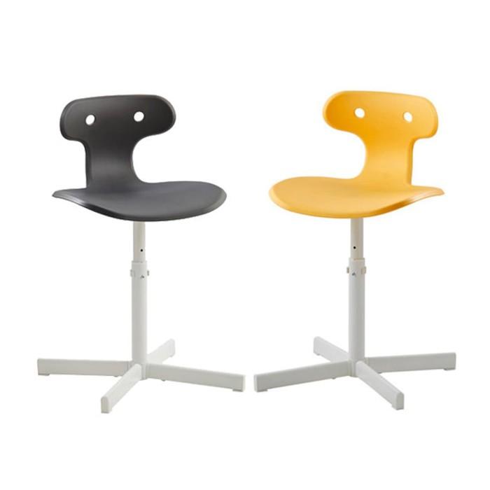 Ikea Molte Kursi Meja Belajar Desk Chair Kuning Abu2