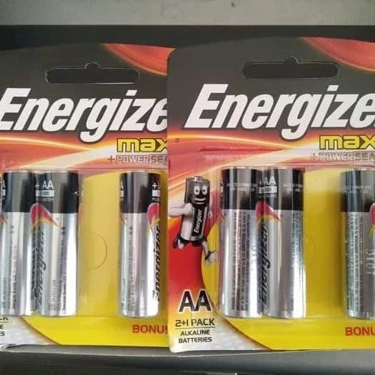 Foto Produk Baterai batre battery batrei batu energizer max a2 aa isi 3pcs dari TB-ACC