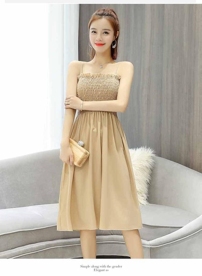 Jual Dress Wanita Korea Cantik Terbaru 2018 Eveshopashop Tokopedia