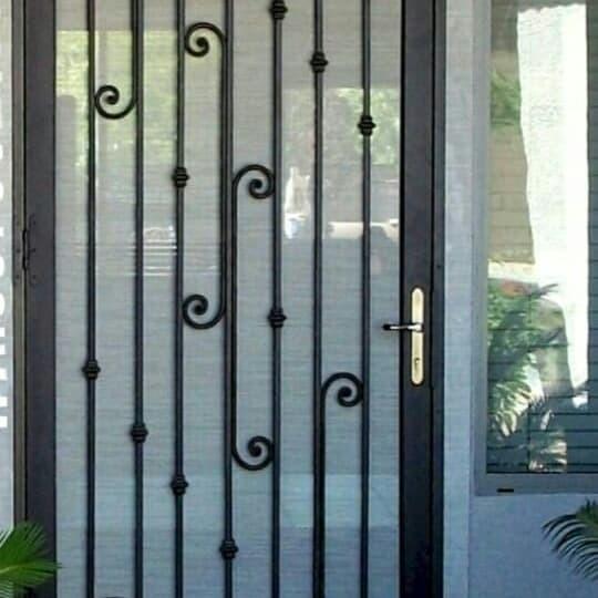 Jual Pintu Besi Pintu Kawat Nyamuk Besi Pintu Tralis Besi Ram