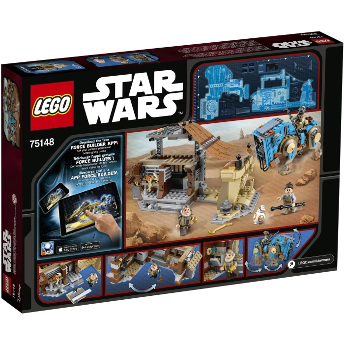 Jual Lego Star Wars 75148 Encounter On Jakku Bricks Mainan Anak