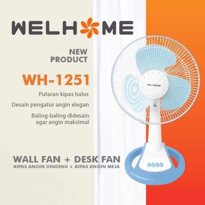 harga Kipas angin meja atau duduk bisa di dinding juga 2 in 1 (12 inci) Tokopedia.com