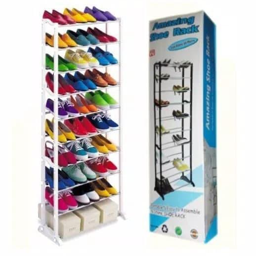 harga Amazing shoe rack Tokopedia.com