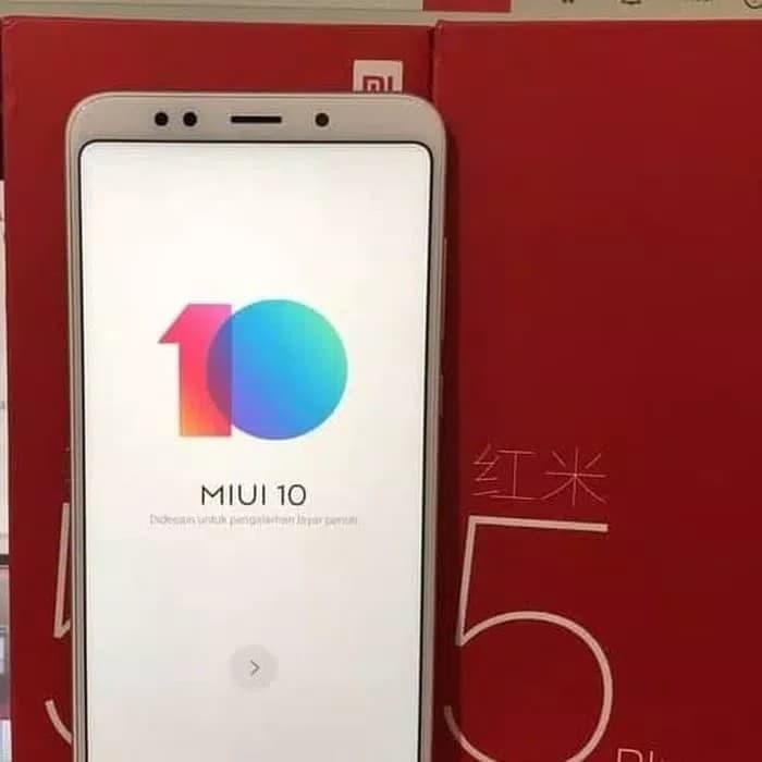 Xiaomi Redmi 5 plus 3/32 garansi 1 Tahun Harga Rp  1 870 000