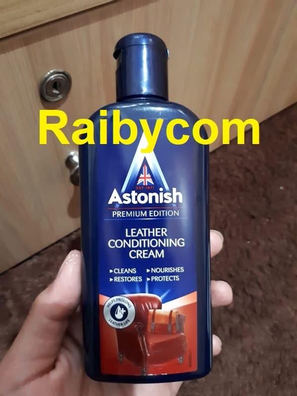Foto Produk Astonish leather cleaner Pembersih kulit tas sepatu jaket dll 235ML dari Raibycom