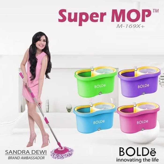 SUPER MOP BOLDE SUPERMOP M-169X+ ALAT PEL M169X+ PLUS M-169 X ORIGINAL