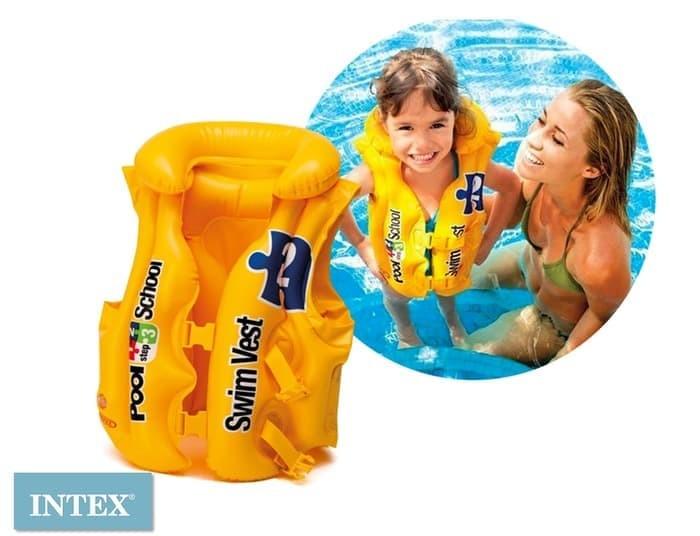 Intex 58660 swim vest pool school step 2 pelampung rompi renang