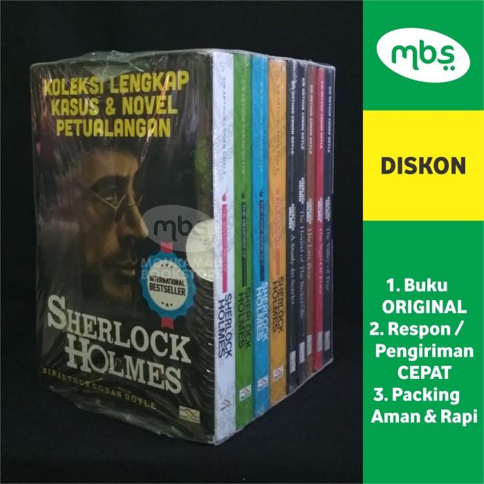 harga Koleksi lengkap kasus dan novel petualangan - sherlock holmes - 9 buku Tokopedia.com