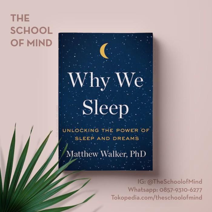 harga Why we sleep |matthew walker | ebook buku kindle iphone ipad pro x Tokopedia.com