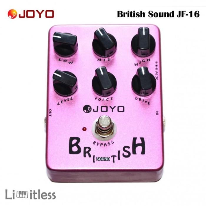 harga Efek gitar joyo british sound jf-16 Tokopedia.com