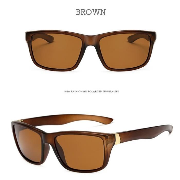 !!terlaris Polarized SQUARE Sunglasses Polaroid SUN Glasses Night