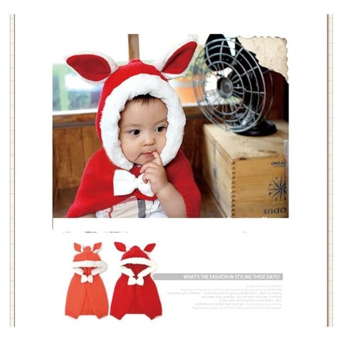 jaket anak / jaket kuping kelinci anak / jaket korea anak