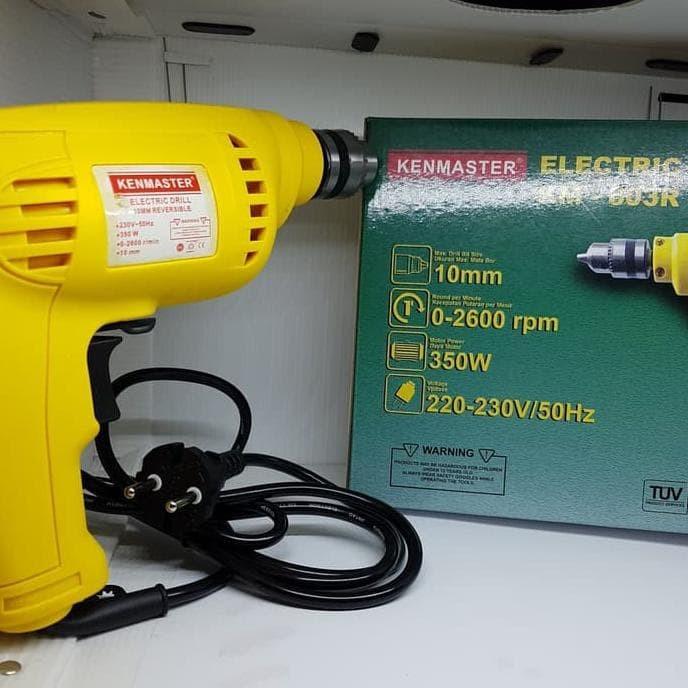 Berkualitas Mesin Bor Kenmaster / Bor Listrik Kenmaster / Drill Km-603