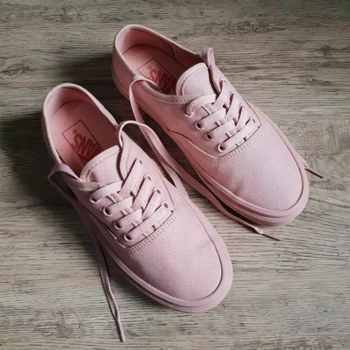 Jual Sepatu vans Authentic pink rose Kab. Pekalongan cv zainal | Tokopedia