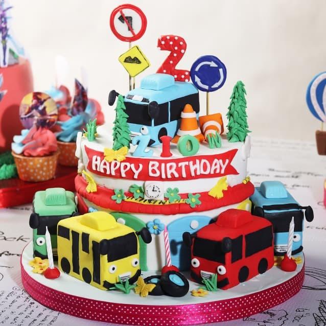 Gambar Kue Ulang Tahun Anak Laki Laki Tayo Berbagai Kue
