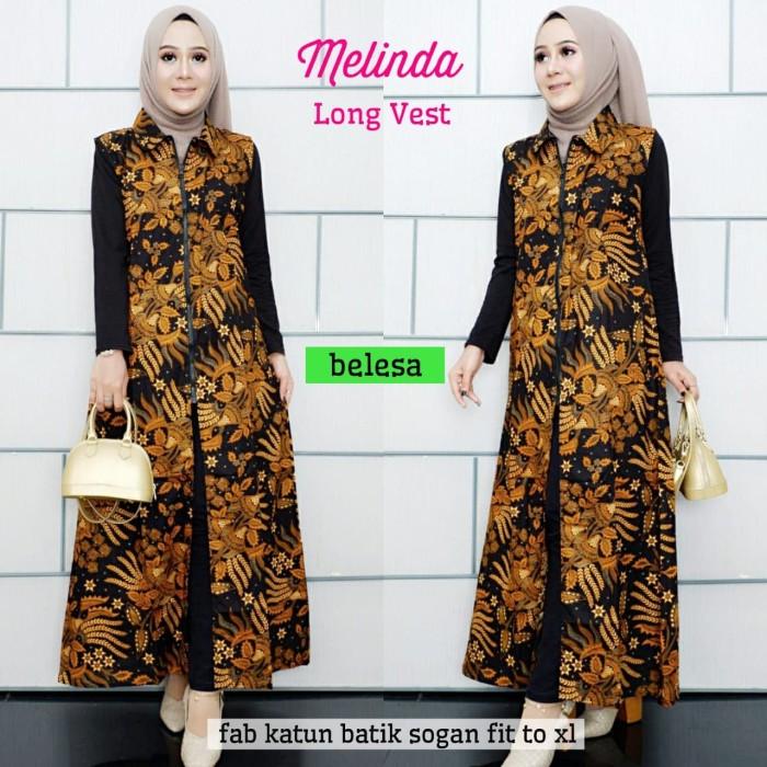 Jual Masruroh Long Vest Batik Cardigan Panjang Batik Modern Wanita Murah Kota Surakarta Masruroh Onlineshop Tokopedia