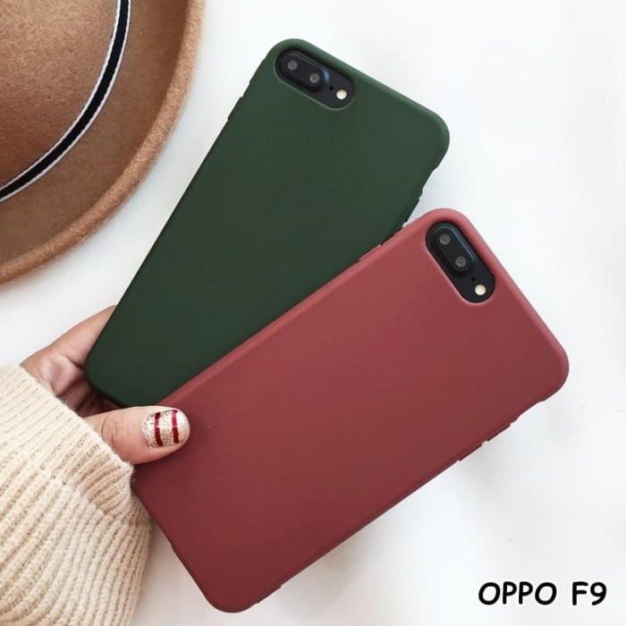 Foto Produk FOR OPPO F9 - GREEN PURPLE CANDY SOFT CASE CASING SILIKON dari lakucart