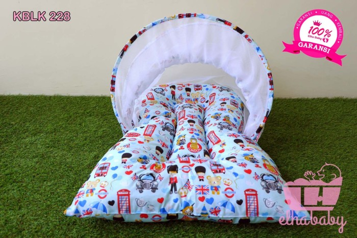 Kasur Bayi Peralatan Tempat Tidur Perlengkapan KBLK228