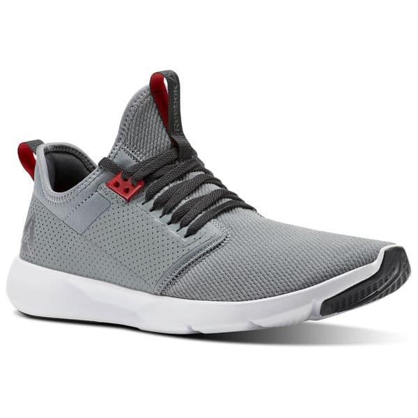 Jual Sepatu Running Reebok Plus Lite 2.0 Grey Putih Original Asli ... 2dbb517843