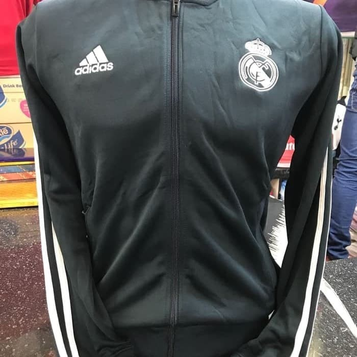Jaket Bola Real Madrid Away 2018/19 Grade ORI GO