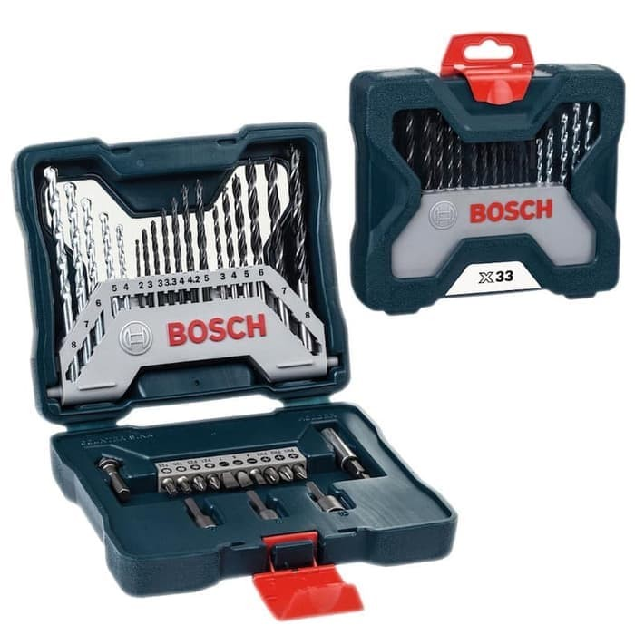 Foto Produk Bosch Mata Bor Obeng 33 Pcs X-line dari Bosch Official Store