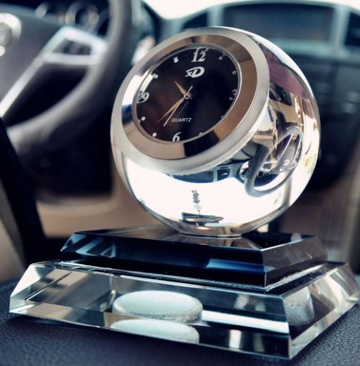Aksesoris Mobil Interior Parfum Mobil Premium Crystall Clear Import - Hitam