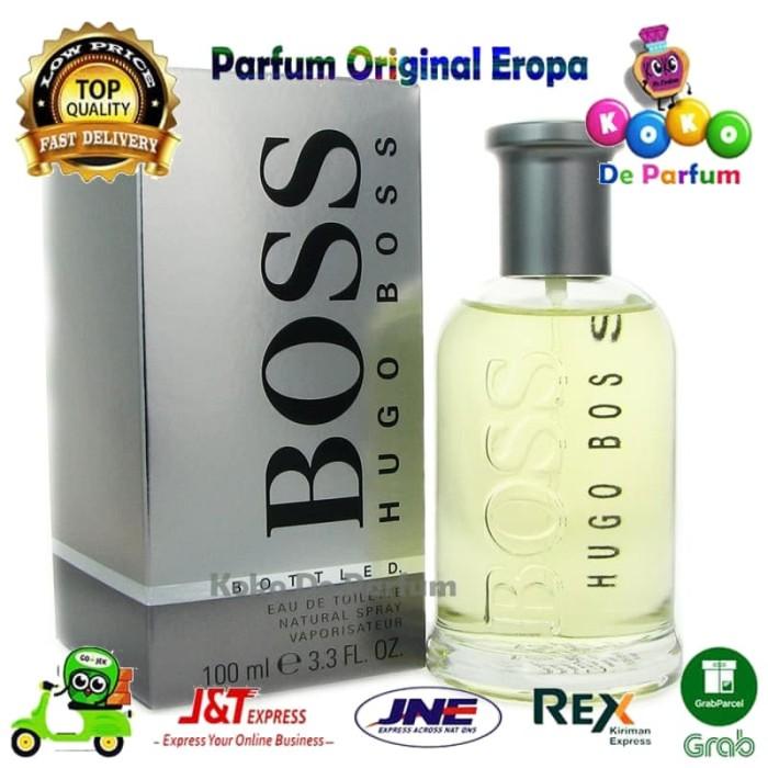 Jual Parfum Pria Original Pria Hugo Boss Bottled Bottle Parfume Ori