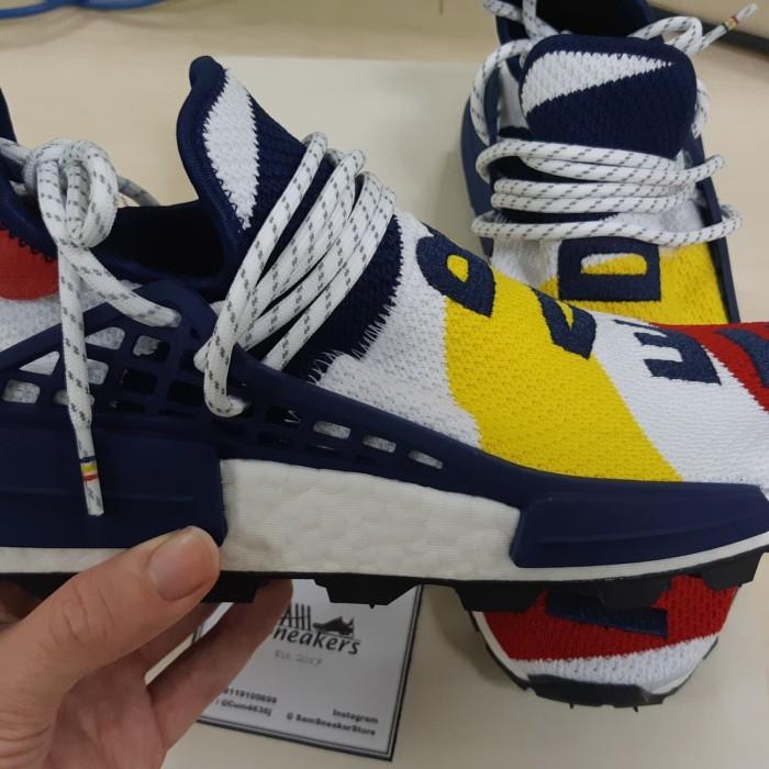 save off e70d9 5a33d Jual NMD Hu Human Race X BBC Hear Mind 100% ORIGINAL - Jakarta Timur - Sam  Sneakers | Tokopedia