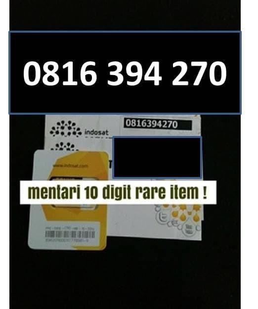 harga Mentari 10 digit nomer cantik kartu perdana indosat bukan im3 Tokopedia.com