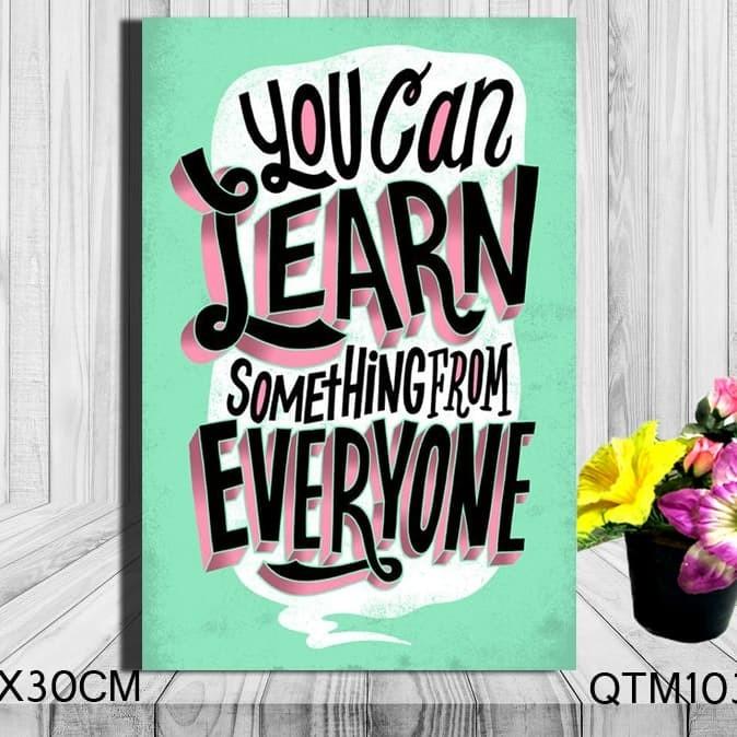 Jual Hiasan Dinding Poster Kayu Gambar Kata Kata Quotes Keren Zero