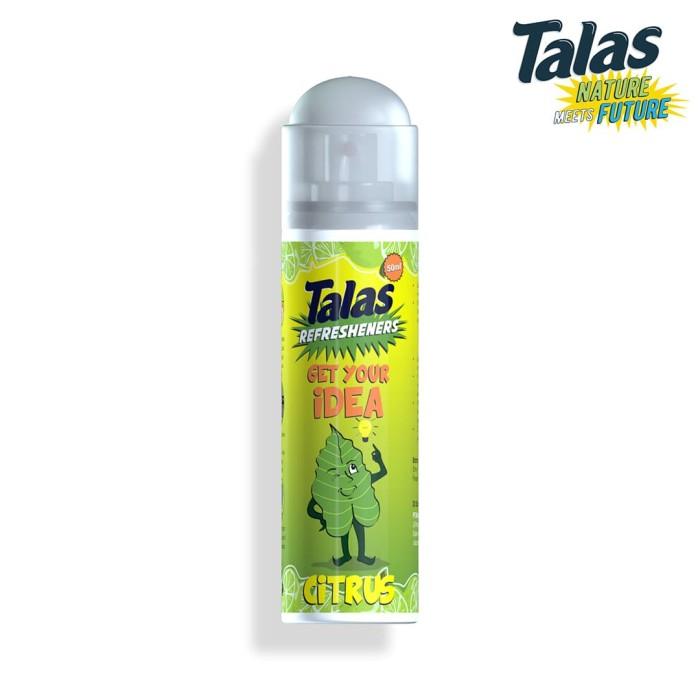 Talas Refreshener Aerosol Citrus (Pengharum) - Blanja.com