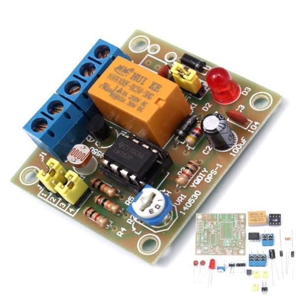 Foto Produk DIY Light Operated Switch Control Module w/ Photosensitive DC 5-6V dari LisuInstrument