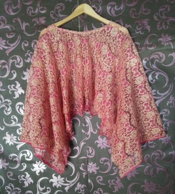 Jual Cape Swing Brokat Renda Kelelawar Brokat Kota Semarang Arina Ulya Fashion Tokopedia