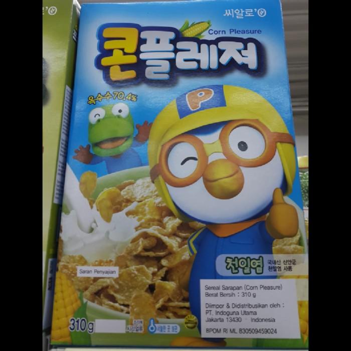 harga Sereal sarapan corn pleasure pororo 310 gram Tokopedia.com