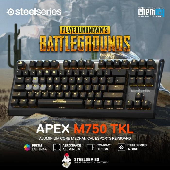 f56847d9dfa Jual Steelseries Apex M750 TKL PUBG Limited Edition Gaming Keyboard ...