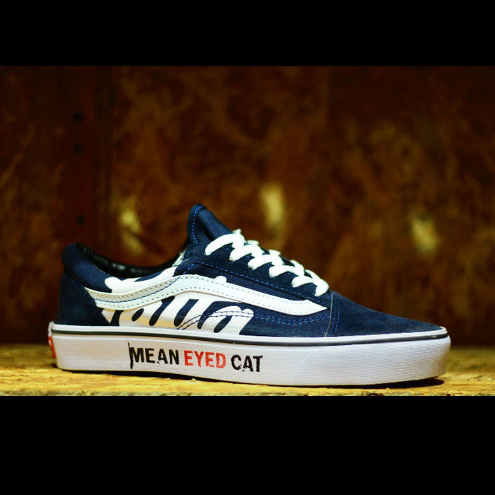 730ddef628 Jual Sepatu Vans Patta Mean Eyed Cat Navy - Kota Bandung - Sepatu ...