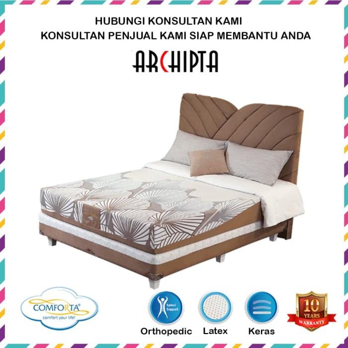 ... Spring Bed Comforta Super Fit Silver Uk 180x200 Komplit Set Lazada Indonesia Source Comforta Solid Spine