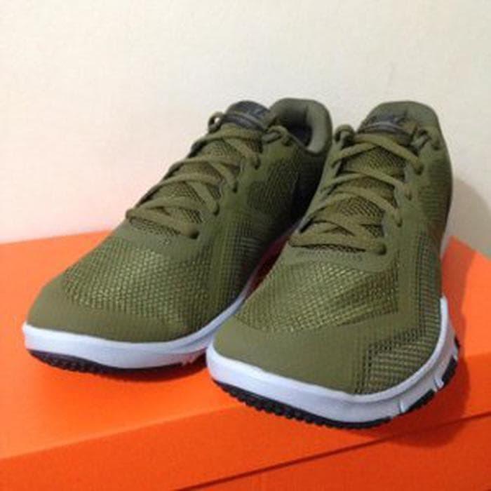 2870165c1e1a1 Sepatu Running Lari Nike Flex Control II Olive Canvas 9 Berkualitas