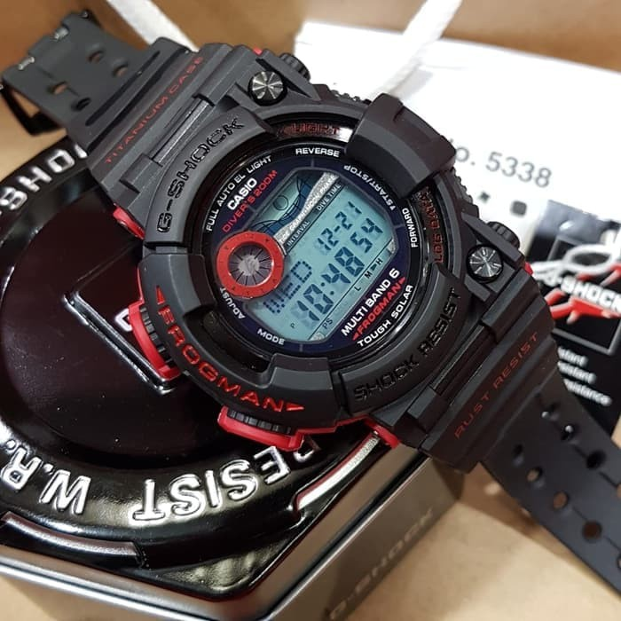 Jual Jam Tangan Casio G-Shock Frogman GWF 1000 A4 Original BM - Time ... afec0c9051
