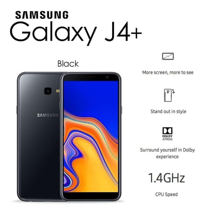 Jual Samsung Galaxy J4 J4 Plus 2 32gb Black Garansi Resmi